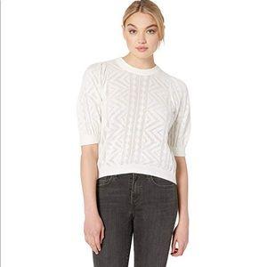 JOIE / Chamora knit pointelle sweater